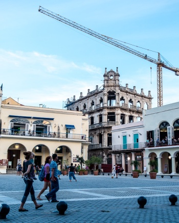 Restoration occurring throughout Havana