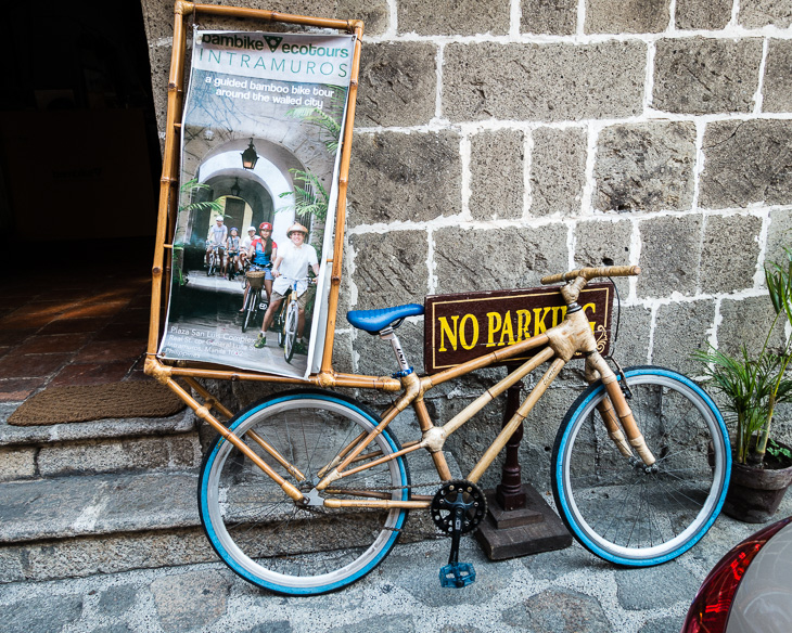 Rent an eco-friendly Bamboo Bike in Manila