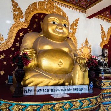 Sitting Buddha on Ko Samui