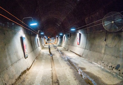 Tunnel 5, almost ready to use again