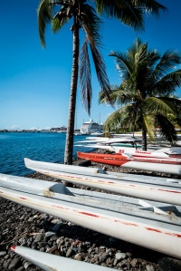 Papeete - kingdon of outrigger canoe