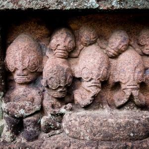 Weird Tiki detail, Piki Vehine sacred site